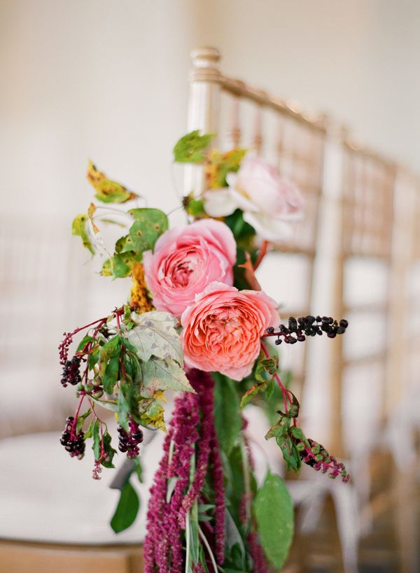 Fall Wedding Aisle Decorations