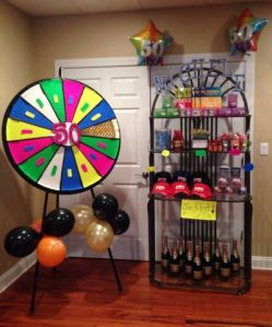 50th Birthday Party Games 50th Birthday Party Games Fortune Wheel jpg