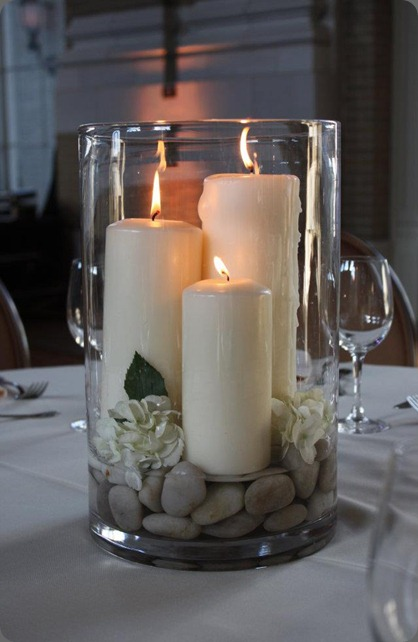 Zen Wedding Centerpieces