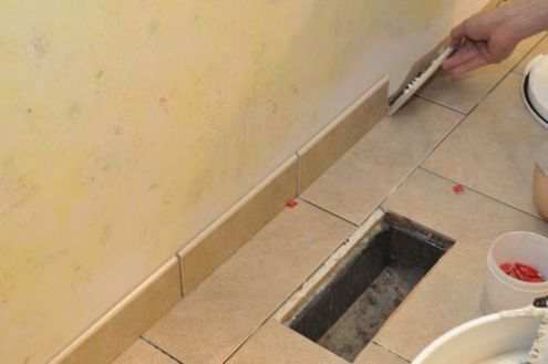 How to Tile a Bathroom  Shower Walls  Floor  Materials  100 pics     Grout