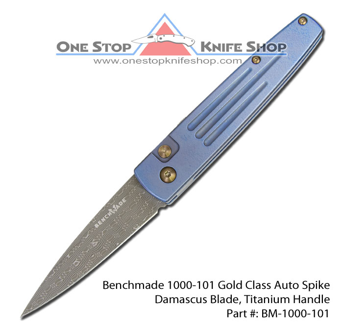 Discontinued Benchmade 1000 101 Gold Class Auto Spike