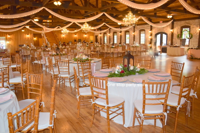 Rustic Event Decor One Stop Party Store