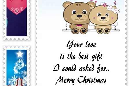 imágenes de what to write in christmas card to boyfriend