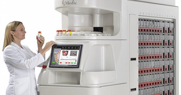 Robotic Pharmacy Automated Dispensing Machines Pharmacy