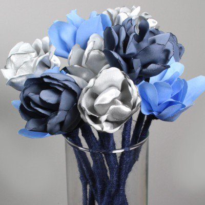How To Make a Fabric Flower Bouquet   OFS Maker s Mill How to Make a Fabric Flower Bouquet