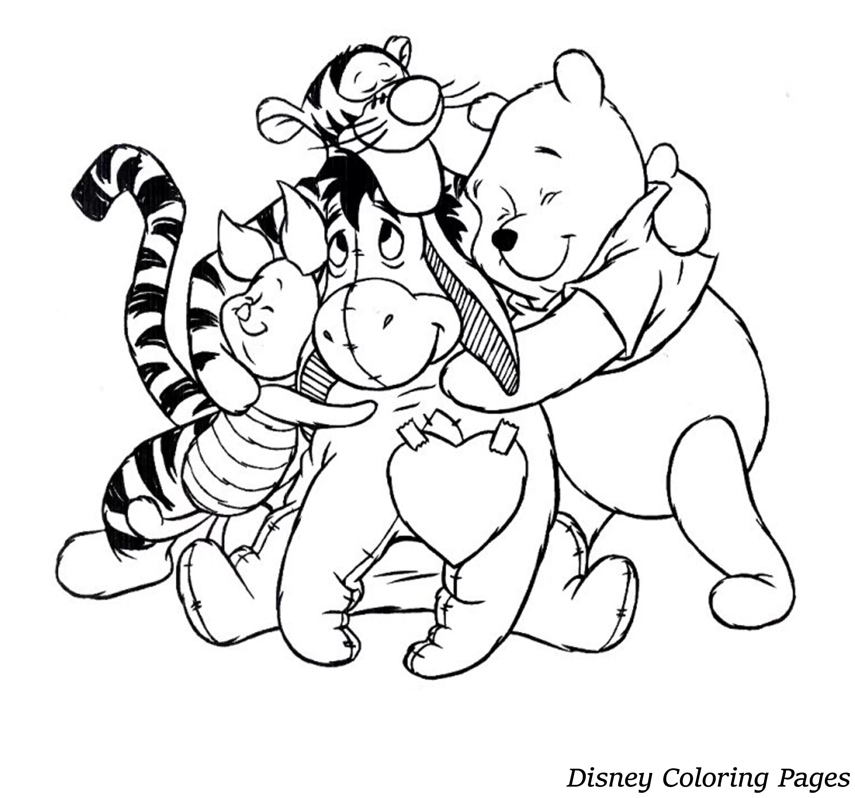 Disney Coloring Pages Free For Adults Only Coloring Pages