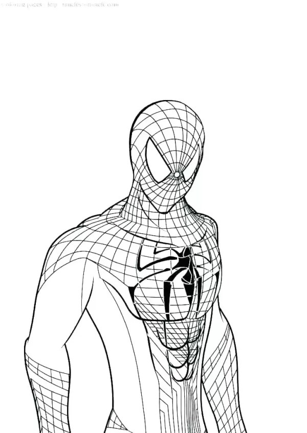 coloring pages of spiderman # 82