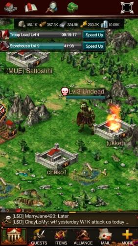 1 World Alliances Game War