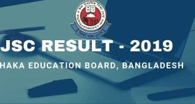 JSC Result Dhaka Board