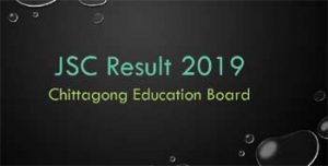 JSC Result 2019 Chattogram Board