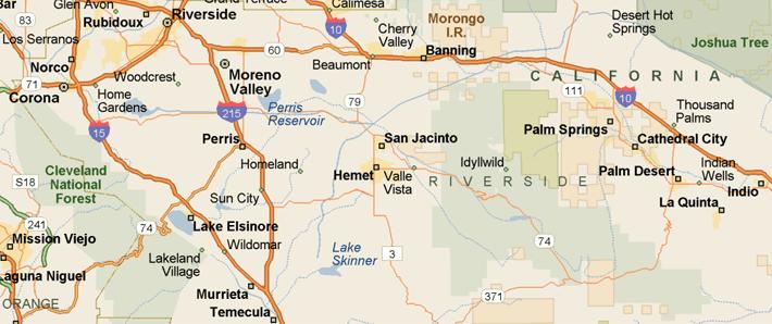 City Of Wildomar California Map