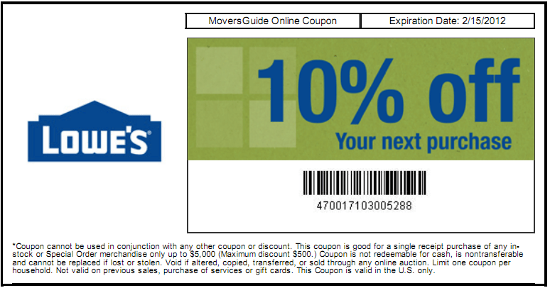 Home Depot Promotion Code