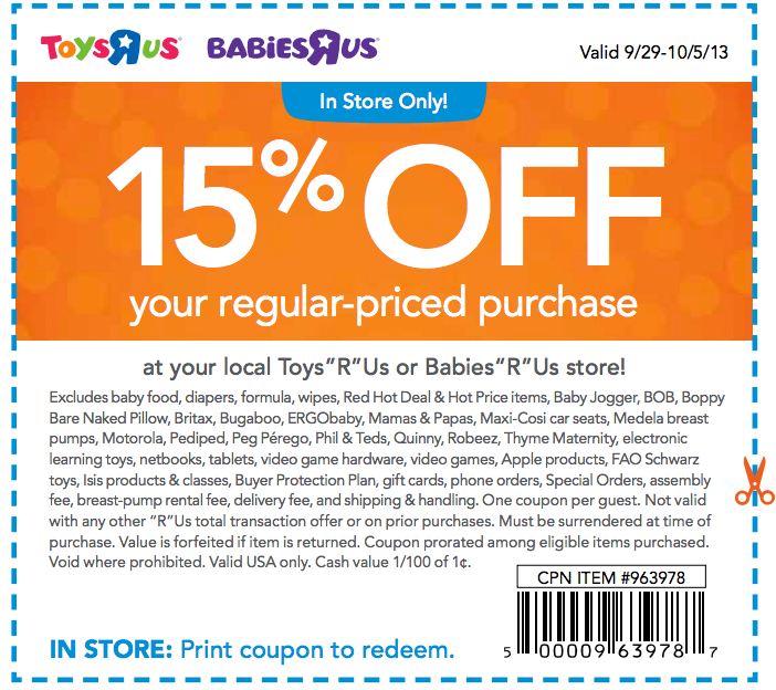 babies r us coupons printable coupons