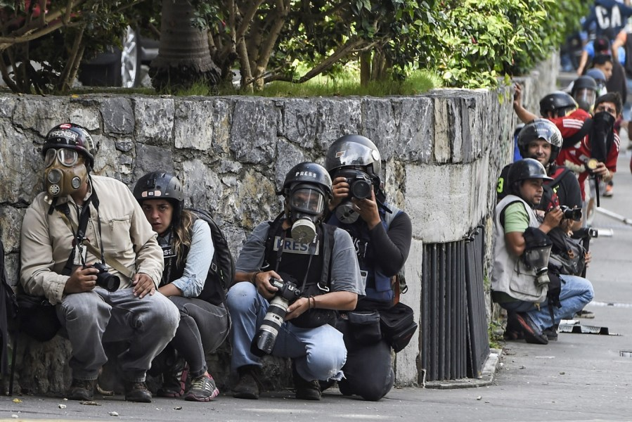 Q A  Journalism and the Crisis in Venezuela