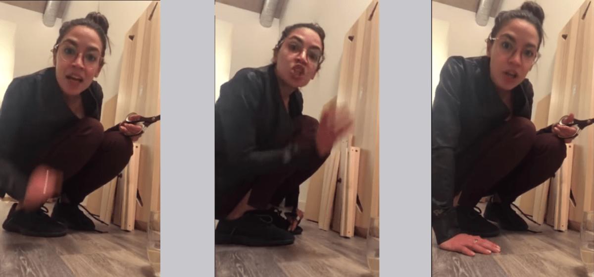Alexandria Ocasio Cortez Rants About Her Critics While