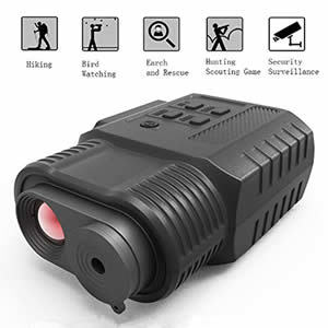 Night Vision Monocular HD Digital Infrared Night Vision Hunting Monocular or Scope Review