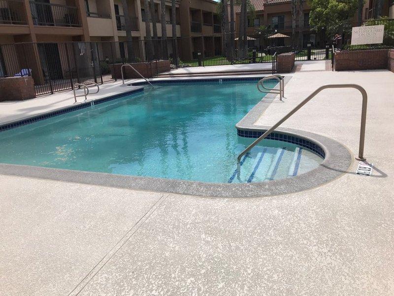 Premium Spray Knockdown Texture Orange County Cool Decking