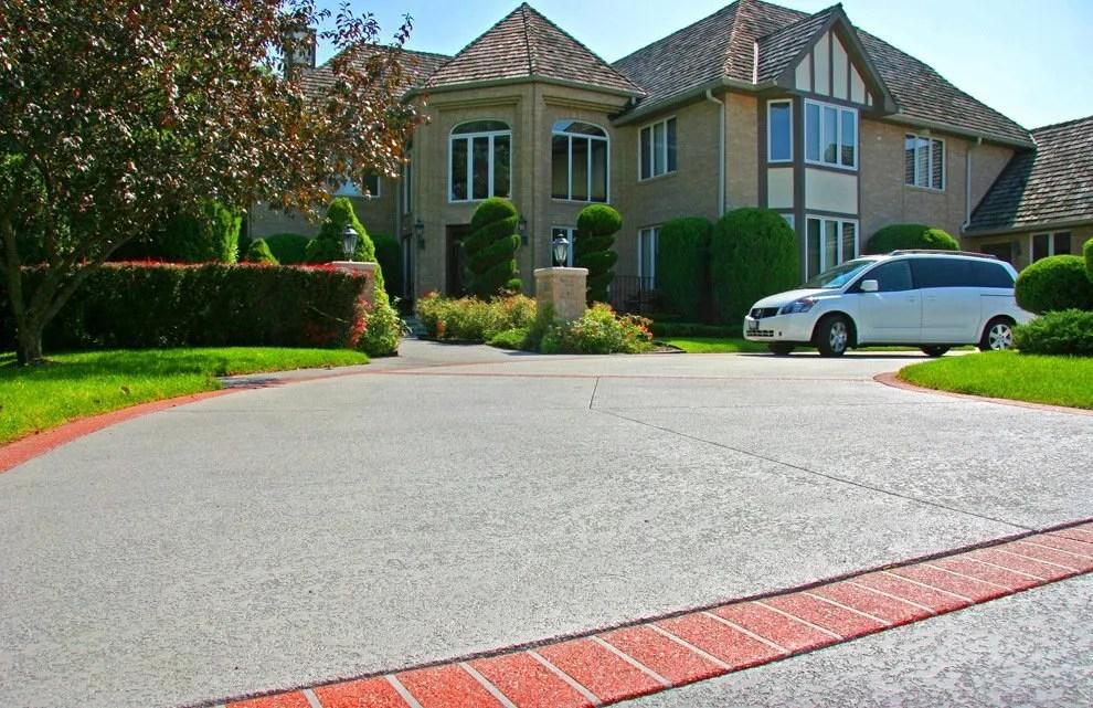 Spray Concrete Driveway
