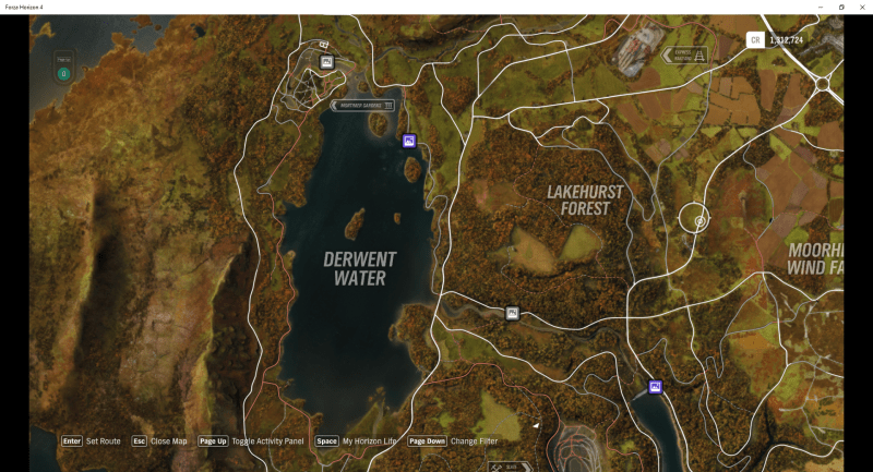 Locations Map Wind Farm