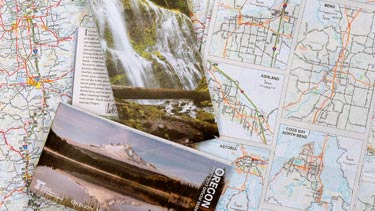 Oregon Department of Transportation   Welcome Page   Data   Maps     Assortment of state maps
