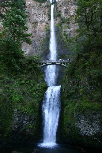Oregon Waterfalls Multnomah Falls