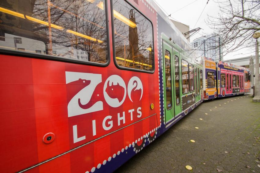 Zoo Lights Oregon 2017