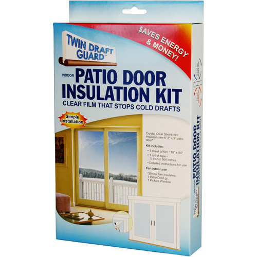 Twin Draft Guard Window Insulation Kit In Draft Stoppers