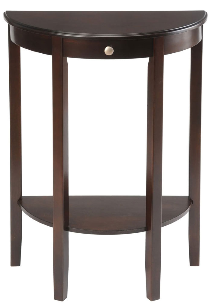 Half Circle Accent Table