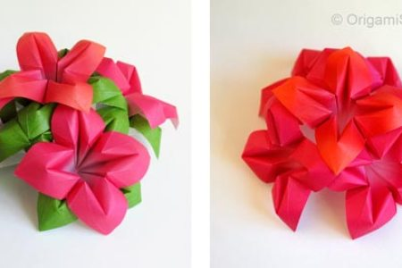 How to make paper folding flower flower shop near me flower shop flower making with paper folding ozil almanoof co diy folded paper flowers kusudama origami theeasydiy crafty easy paper tulip red ted art s blog easy tulip mightylinksfo