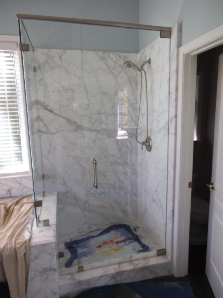 Custom Glass Shower Enclosures Hinged And Sliding Systems