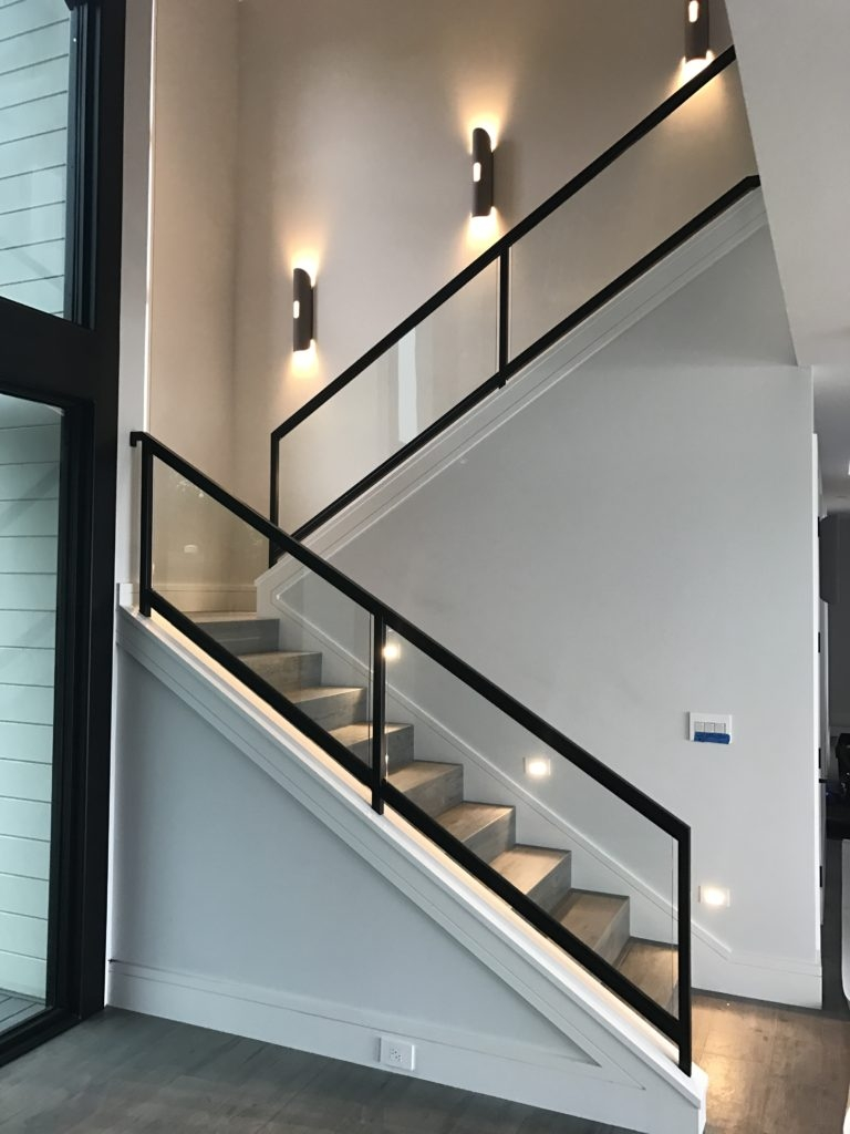 Interior Glass Stair Railing Ot Glass | Glass Balusters For Stairs