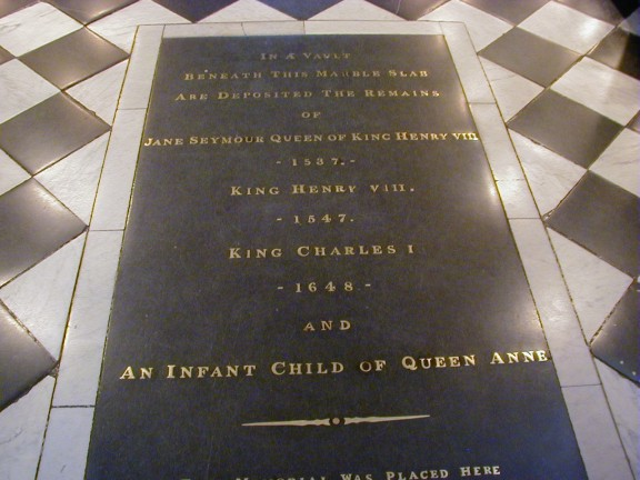 King Henry 8th Grave