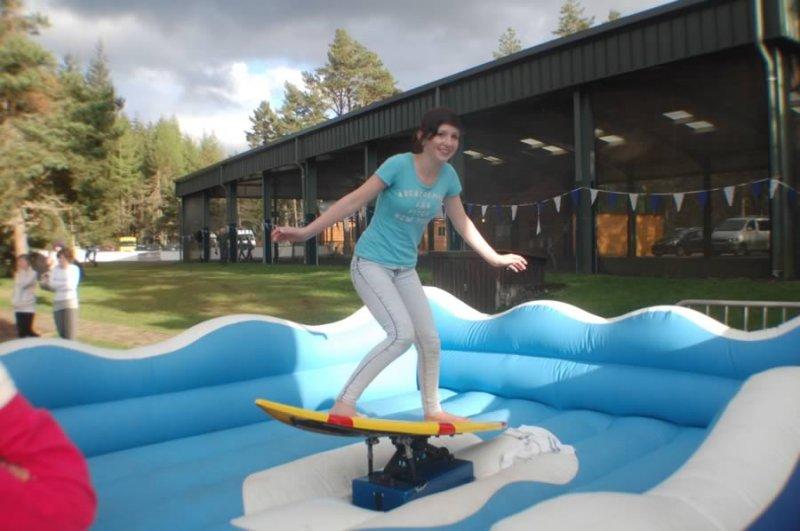 Ice Skateboard Training