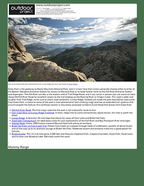 Glacier Campground Map Basin Co