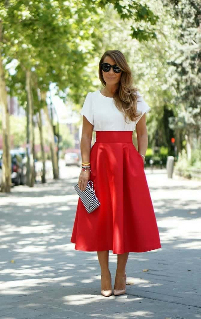 Flats Outfits Red Wear
