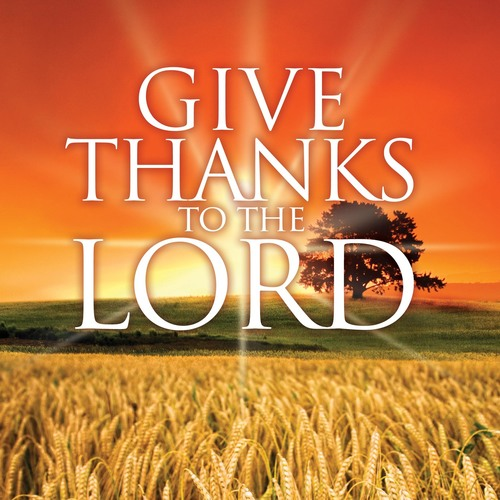 Lord Give Thanks Banner
