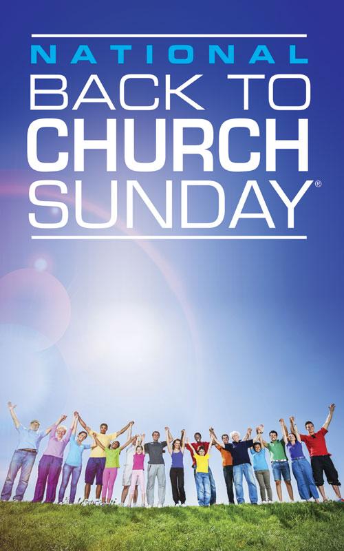 Back To Church Sunday 2013 Banner Church Banners