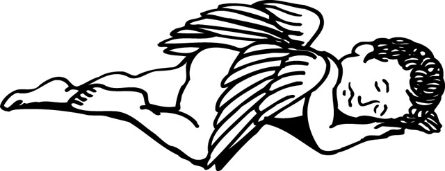 angel clipart for headstones - 640×247
