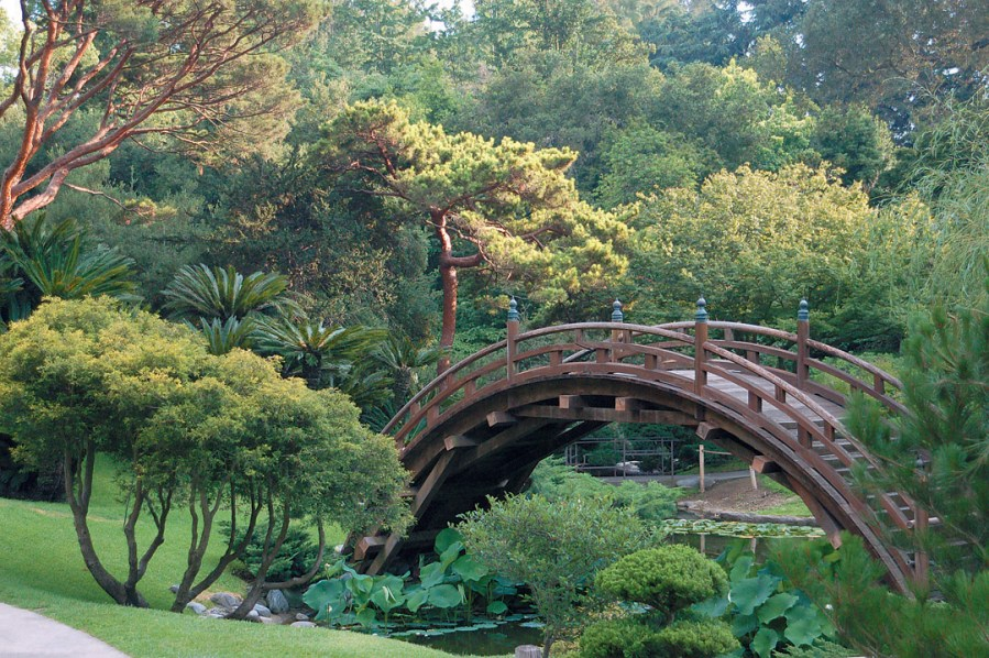 Pacific Horticulture Society   California Japanese Style Gardens     Moon bridge  Huntington Botanical Gardens Japanese Garden  Photograph by  James Folsom   See more