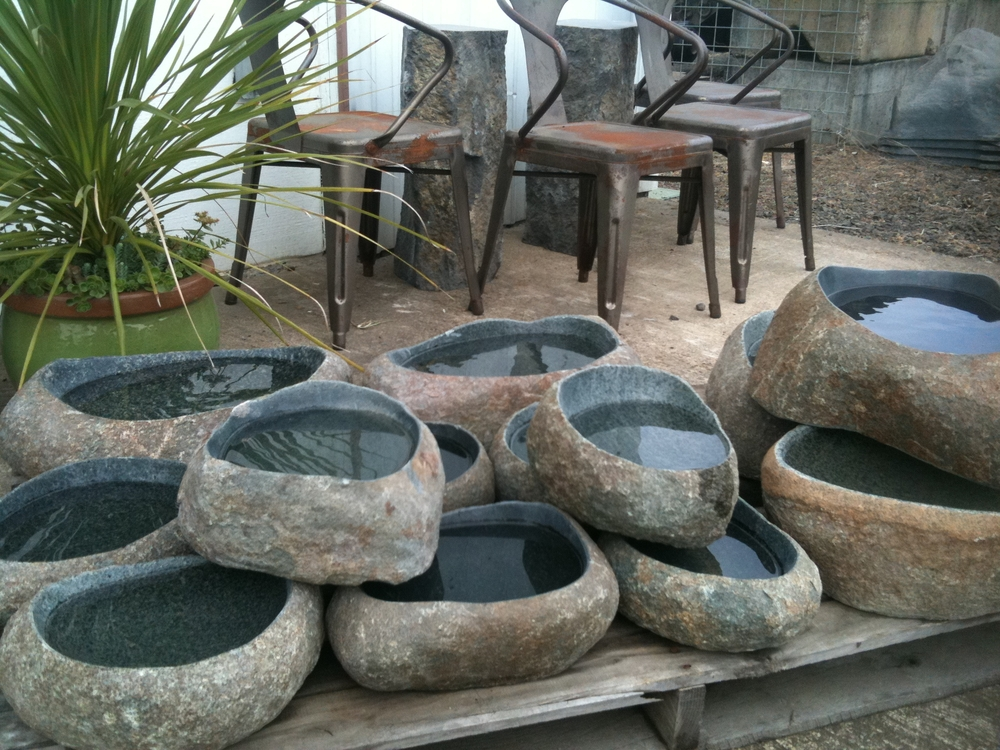 Polished Landscape Stones