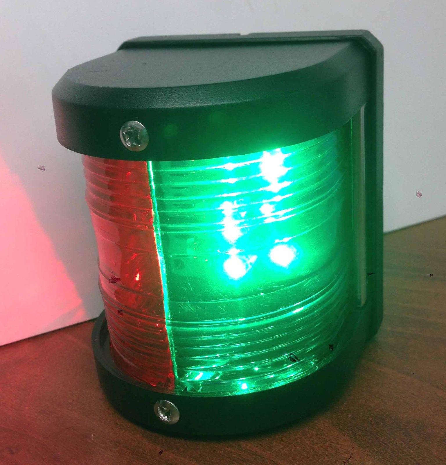 Marine Lights Green Led
