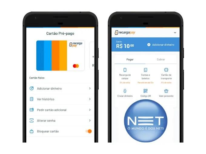 Baixe o app para pagar sua segunda via de serviços NET