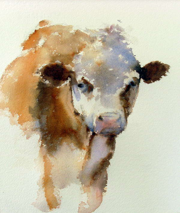 Watercolor Paintings People and Animals Gallery