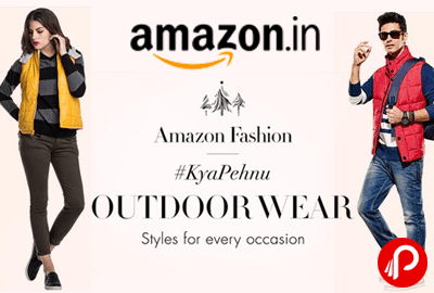 Get Outdoor Wear Amazon Fashion    KyaPehnu   Amazon