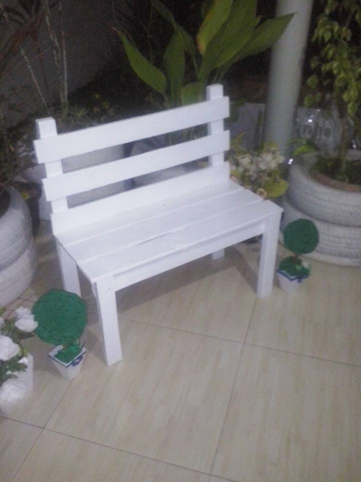 Diy Garden Bench With Wood Pallets Pallet Ideas