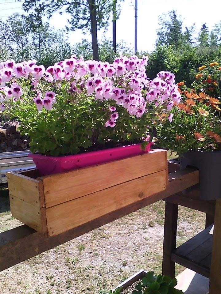 Pallets Made Garden Flower Decor Planter Box Pallet Ideas