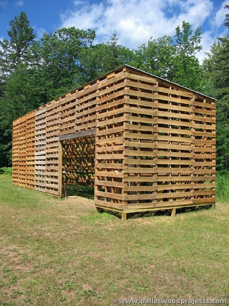 How Build Garden Log Cabin