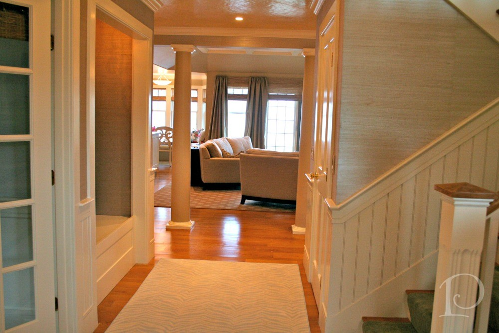 Pamela Copeman      Diary of an Interior Designer  Cape Cod Seaside     Foyer into open space