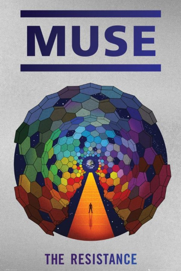 Muse Posters Muse The Resistance Poster Lp1346 Panic