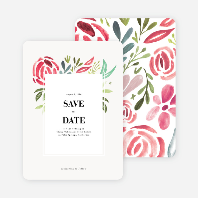 Save Date Stationery Cards